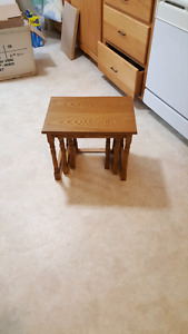 Brand new end tables still in box