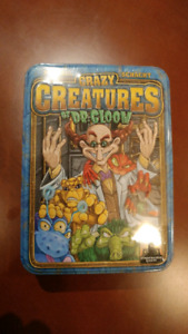 Brand New Sealed - Crazy Creatures of Dr. Gloom - Board Game