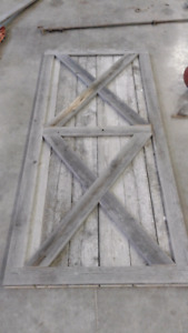 Sliding Barn Door - Home Decor