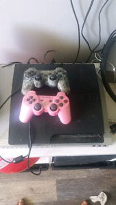 Ps3 with 6 games.