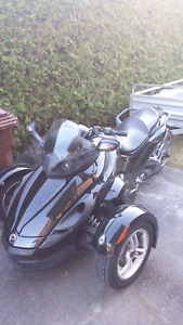 Cam am Spyder rs 2012