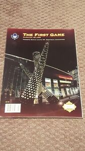 1st Maple Leafs Program @ the ACC - Great Condition!!