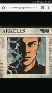 Looking for 2 Arkells tickets Moncton