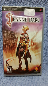 PSP,JEANNE D'ARC,New/Sealed,Sony Collectible RPG Game