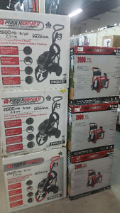 New Gas Pressure Washers last years model