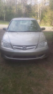 2005 Honda Civic sell or trade for 4x4 truck or atv
