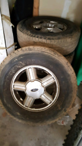 Ford escape 2006 rims and tires