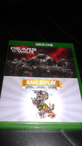 Gears of War and game replay xbox one game