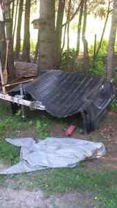 Chevy short box liner and tonneau cover