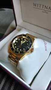 Gold automatic dive watch 450 nego  West Island Greater Montréal image 1