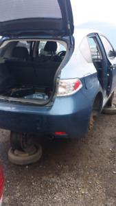Subarue 2008 pour pieces rare