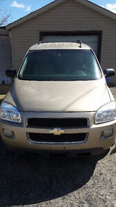2005 Chevrolet Uplander LS Minivan, Van loaded 187500 km