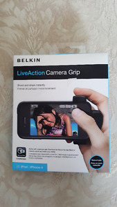 iPhone 4/iPod Live Action Camera Grip