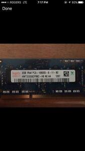 2 sticks apple DDR3 1333Mhz ram