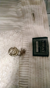 versace couture womans jeans size 2 white