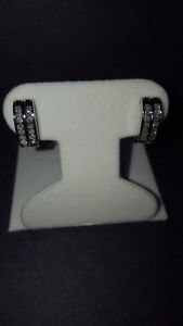 Natural Diamond Earrings with Appraisal