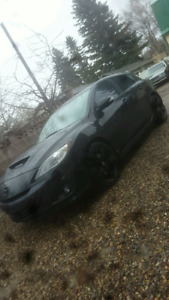 11' Mazdaspeed3 blacked out