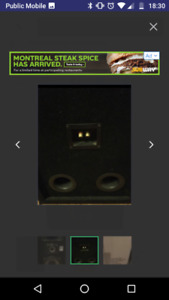 Certified authentic AST X2 1500 Speakers
