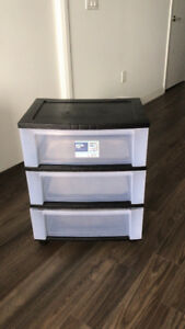 Plastic storage box $15