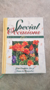 Special occasions Keepsake book