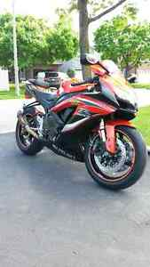 2009 Suzuki Gsxr 600 Orange/Black