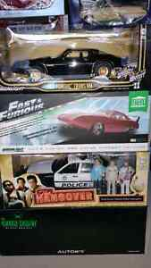 1:18 Diecast Movie Cars by GreenLight and Autoart