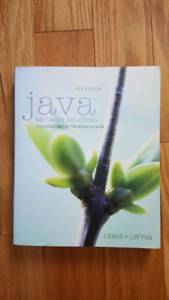 Java Software Solutions 8th Edition
