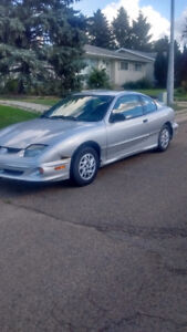 2002 Pontiac Sunfire Grey Coupe (2 door)