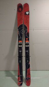 4FRNT Cody All Mountain Skiis w/ Marker Lord Bindings - $525