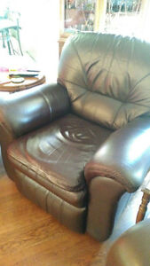 2 big beautiful, high end recliners.