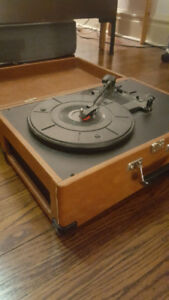 Crosley Portable Record Player - No Amp Needed!
