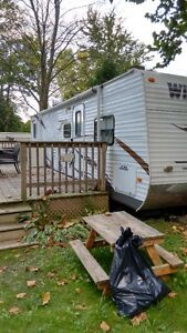 2011 Forest River Wildwood Trailer 29BHBS