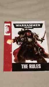 Warhammer 40k small rulebook / petit livre de règles