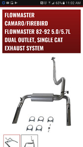 Flowmaster 3inch cat back exhaust