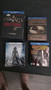 new bluray boxsets (sopraons, lord of the rings, underworld)