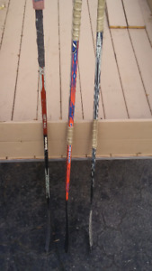 Kids Hockey Sticks Two Left, 1 Right