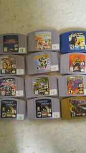 N64 with a bunch of games and accessories Stratford Kitchener Area image 4