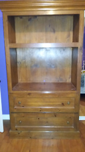 Hand crafted pine armoire