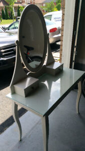 IKEA Dressing Table with matching Stool - Good Condition