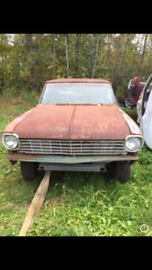 Chevy II 100 (Nova) 1962- Projet de restoration
