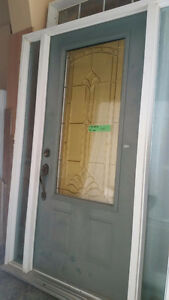 Entrance Door with 2 Side Lites