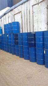 220 litre/45 gallon Steel drums