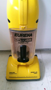 Eureka the boss super lite vaccuum heavy dity for a small vacuum