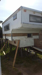 Truck Box Camper- Everything works -price lowered for quick sale