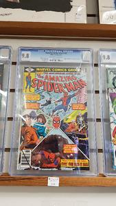 CGC graded 9.8 The Amazing Spiderman #195 comic
