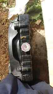 Mopar dodge plymouth 318 small block radiator