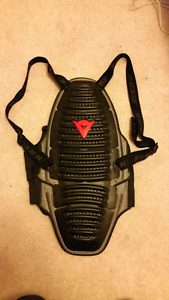 Dainese back protector - large