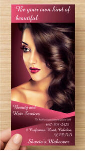 Beauty and Hair services