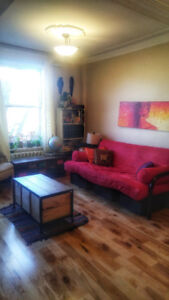 Furnished, large, bright and modern 3 1/2 in the Plateau