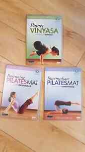 Pilates and Yoga dvds